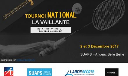 25e Masters National de la Vaillante Badminton Angers !