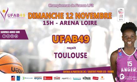 LF2 (10e journée) : L'UFAB reçoit Toulouse en match avancé, ce dimanche à 15h00.