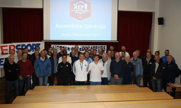 Bilan 2017-2018 de l'Amicale des Éducateurs de Football du Maine-et-Loire.