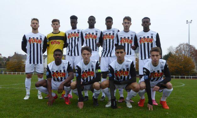 U19 National (23e journée) : Angers SCO n'a pas été récompensé de son investissement à Guingamp (0-1).