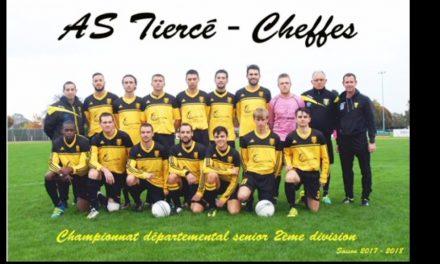 D2 (19e journée) : Tiercé-Cheffes a su réagir à Angrie Saint-Pierre (4-1).