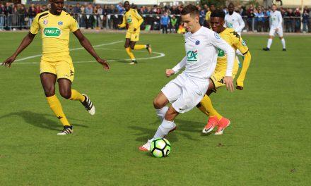 Hugo PIOU : J'ai été heureux de faire partie de la famille d'Angers NDC et de jouer contre le Stade Lavallois en coupe de France.