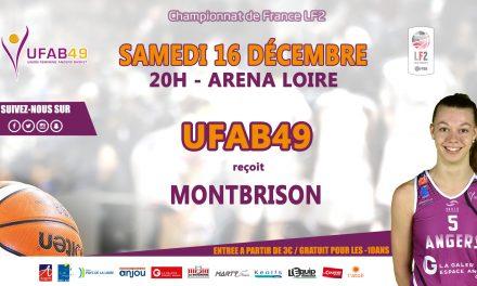 LF2 (11e journée) : L'UFAB 49 reçoit Montbrison dans un match de haut de tableau.