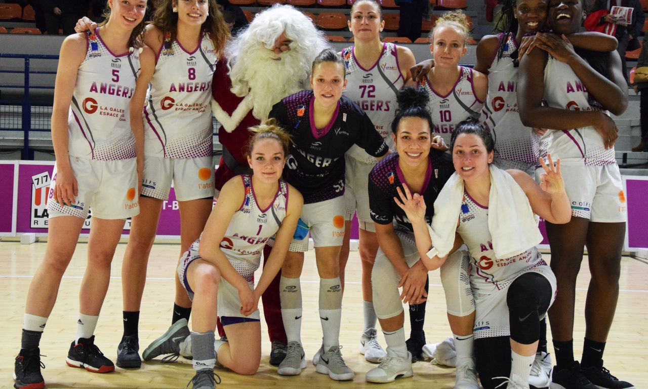 LF2 12e journée : L'UFAB peut passer les fêtes au chaud grâce à sa victoire face à Saint-Paul Rezé Basket (78-52)