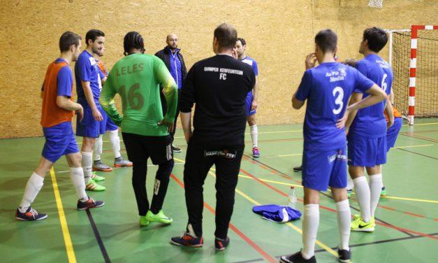 Coup d'arrêt pour les aigles du LCDF Angers Futsal.