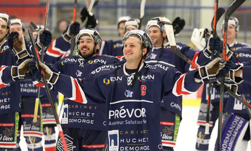 Hockey D1 : Les Dogs corrigés à domicile par les Drakkars de Caen