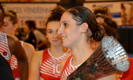 Amandine CHEMINEAU : Ma victoire en Coupe de France à Bercy, avec l'UFAB 49, restera mon plus beau souvenir sportif !