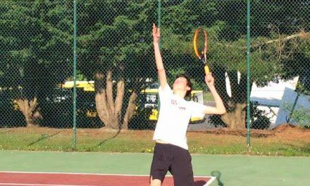 Antoine RIBAULT : le maintien en Régionale 1, l'objectif de l'équipe 2 de l'ASPC Tennis.