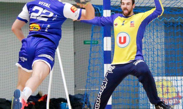 """Julien Salmon, handballeur, """"mon meilleur souvenir : le titre de champion du monde junior."""""""