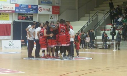 NM1 (18e journée) Le BAB s'impose sans forcer face au Centre Fédéral Basket-Ball (103-70).