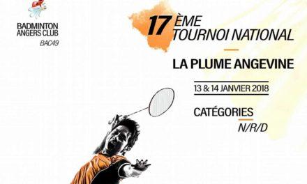 Revivez en images la 17ème édition du Tournoi National de la Plume Angevine !