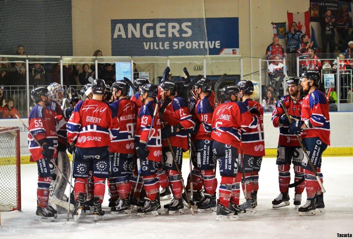 Ligue Magnus (32e journée) : Angers domine Lyon avec son premier blanchissage de la saison  (4-0).