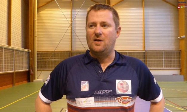 Retour sur la première partie de saison de la Vaillante Tennis de Table Angers avec David Pilard.