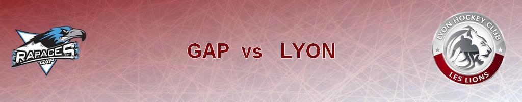 GAP vs LYON