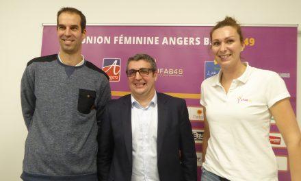L'Union Féminine Angers Basket présente sa nouvelle recrue : Élodie BERTAL-CHRISTMANN.