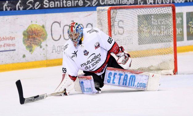 Ligue Magnus (31e journée) : Angers rechute sur la Côte d'Azur à Nice (6-5, ap.).