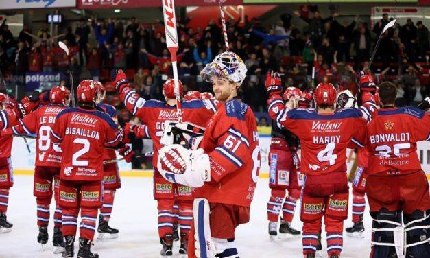 Ligue Magnus (35e journée) : Angers se brûle les ailes à Grenoble (3-1).