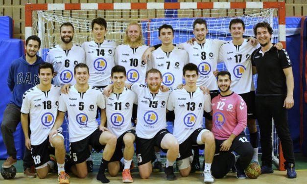 Handball (10e journée) : Une reprise au goût amer pour la pré-nationale d'Avrillé face à Ligné (29-29).