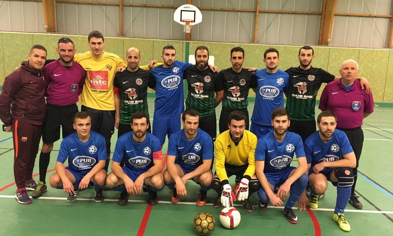 8e de finale de la coupe des Pays-de-la-Loire de Futsal : Musulmane Nantes Nord s'impose logiquement à Angers NDC (9-3).