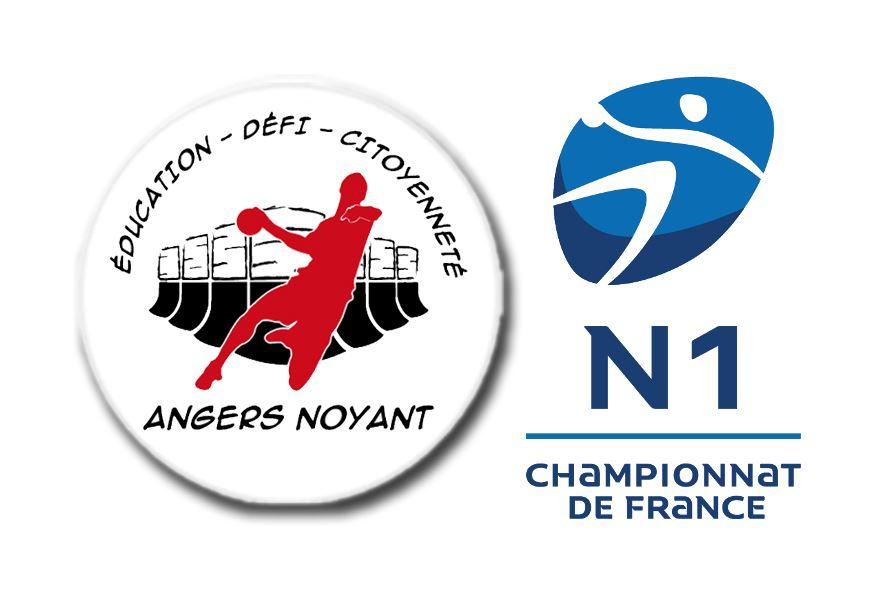 Championnat de France de Nationale 1 : Calendrier officiel de la poule haute pour l'Angers-Noyant HBC.