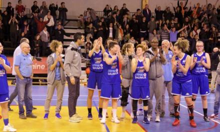 NF2 (14e journée) : Saumur Loire Basket s'impose dans le money-time à Anglet (51-49).