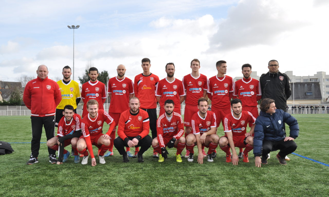 Coupe de l'Anjou (8e de finale) : Mûrs-Érigné a su faire respecter la hiérarchie à Saint-Martin-Aviré-Louvaines (5-0).