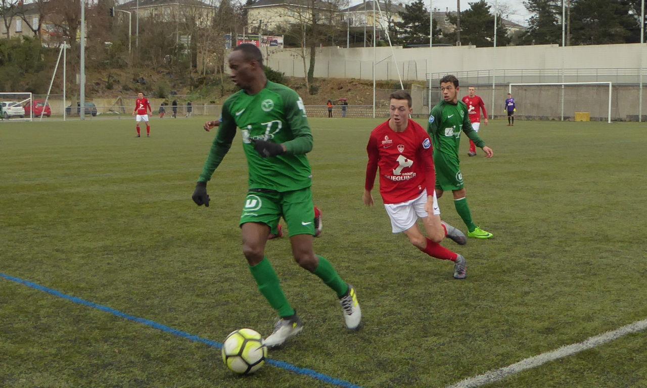 U19 National (19e journée) : Angers Vaillante obtient un bon match nul face au Stade Brestois 29 (1-1).