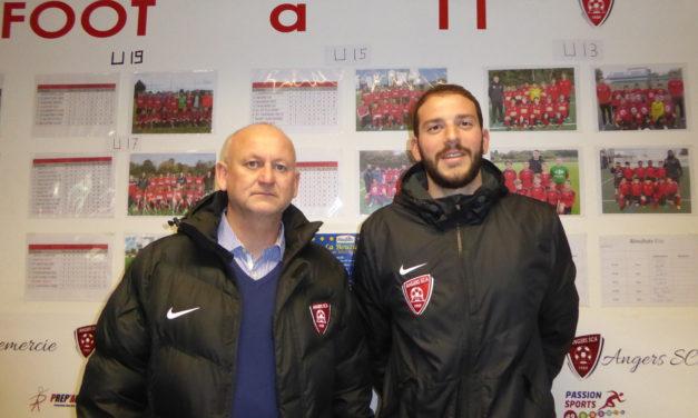 Florent LEROY et le club d'Angers SCA ont souhaité arrêter l'aventure d'un commun accord, en fin de saison.