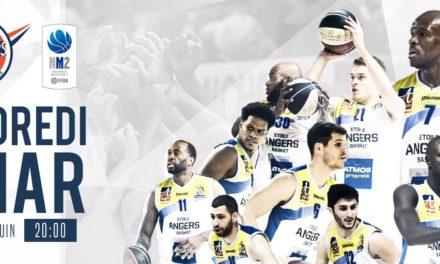 NM2 (20e journée) : L'Étoile Angers Basket reçoit Tours pour un match au sommet !