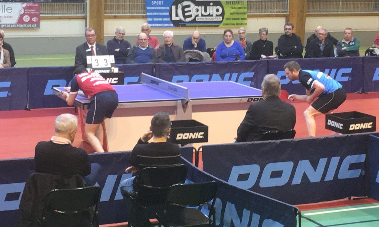 PRO A (12e journée) : La Vaillante Tennis de Table s'incline au terme d'un match très frustrant contre le SPO Rouen TT (2-3).