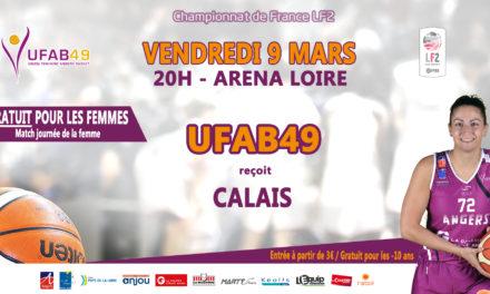 LF2 (20e journée) : L'UFAB reçoit Calais pour son dernier match à domicile, en saison régulière.