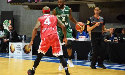Coupe de France de basket : Nanterre se qualifie dans la douleur face à Denain (66-79).