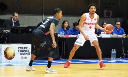 Quart de finale de la coupe de France de basket : Boulazac se qualifie face une équipe B de Monaco.