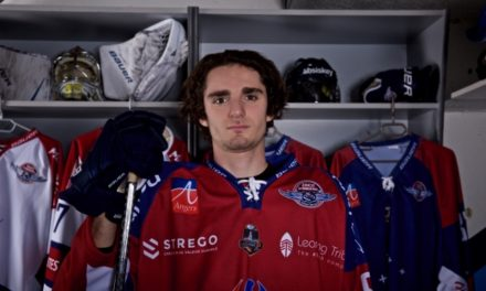 Hugo SARLIN : L'envie de devenir un joueur de hockey professionnel.