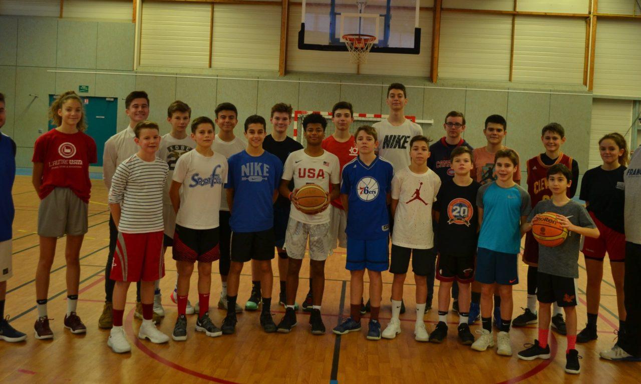 Cap sur la finale régionale pour la Section Sportive Scolaire Basket MONGAZON !