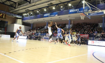 NM2 (20e journée) : Avec cette victoire, l'Étoile Angers Basket fait la très bonne opération face à Tours (90-74).
