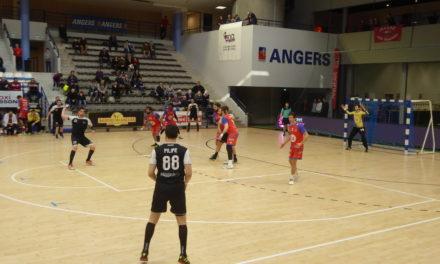 N1M (play-offs / 3e journée) : Angers-Noyant assure l'essentiel en s'imposant face à Villeurbanne (26-23).