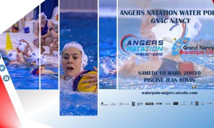 Samedi 10 Mars 2018 : Angers reçoit Nancy pour le compte de la 4ème journée du Championnat de France Pro A Féminine à 20h30 !