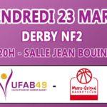 Les joueuses professionnelles de l'UFAB49 participeront à la deuxième journée des Sessions Pro du Conseil Départemental de Maine-et-Loire.