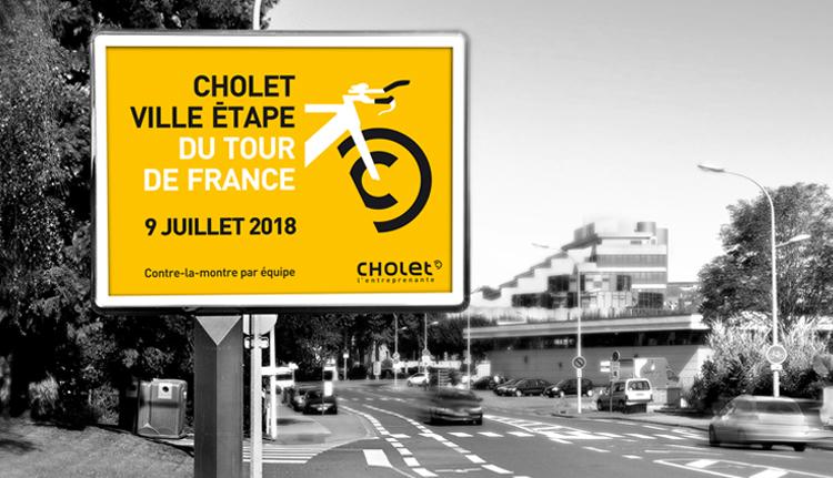 Le 9 juillet, le Tour de France fera étape à Cholet !