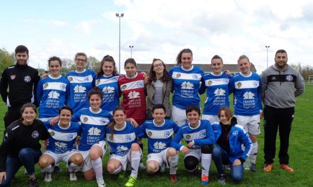 D1 (2e phase / 10e journée) : Belle victoire d'Angers NDC à la Possosavennière (6-0).