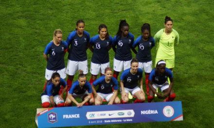 Une victoire écrasante pour l'équipe de France face au Nigeria (8-0).