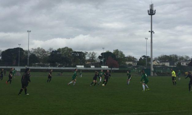 R2F (16e journée) : Les Choletaises prennent l'eau à la Croix Blanche (4-0).