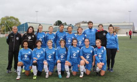 U18 N1 (2e phase / 8e journée) : Belle victoire d'Angers NDC aux Verchers Saint-Georges (2-7).