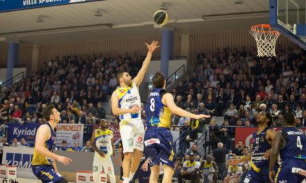 Revivez les meilleurs moments du match entre l'Étoile Angers Basket – Berck Rang du Fliers (80-63).