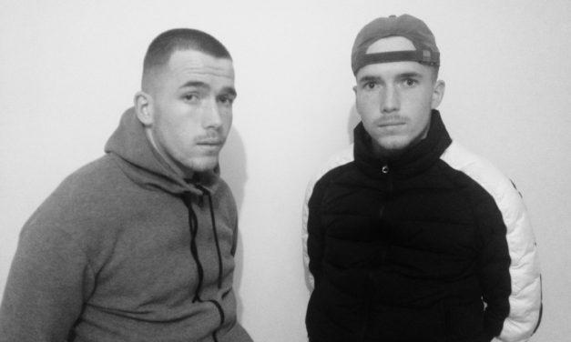 Luc et José Allard, frères jumeaux unis par la passion du football.