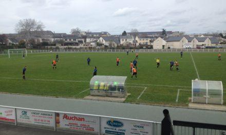 Coupe de l'Anjou (1/8ème de finale) : Montreuil réalise l'exploit face au Foyer de Trélazé (2-0).