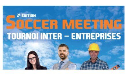 Soccer-meeting, le tournoi de football inter-entreprises, le vendredi 22 juin 2018 à Avrillé !