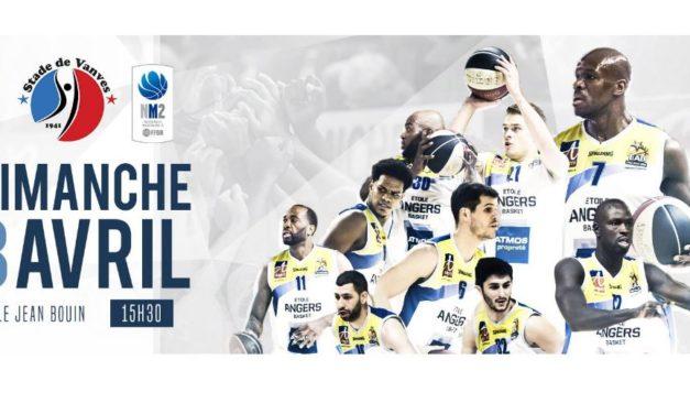 NM2 (23e journée) : L'Étoile Angers Basket veut poursuivre sur sa dynamique face à Vanves.