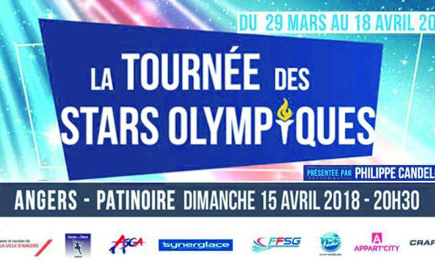 La Tournée des Stars Olympiques fait escale à Angers, ce dimanche !
